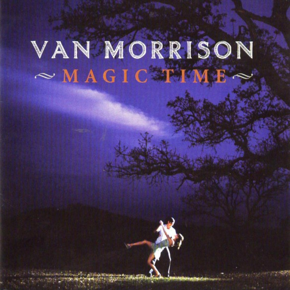 Capa do disco Magic Time (2005) de Van Morrison