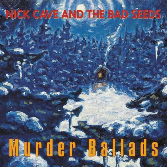 """Murder Ballads (1996): ao longo de quase uma hora, mesclando composições originais e versões, o álbum conta histórias tão """"pitorescas"""" quanto a de um homem que testemunha a morte de sua família pelas mãos de um serial killer"""