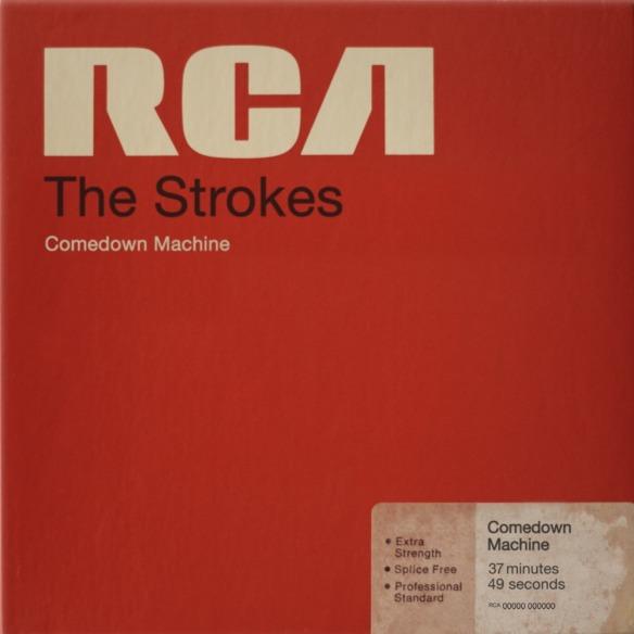 Comedown Machine (2013): só por desafiar frontalmente e com tanto desprendimento os parâmetros anteriormente estabelecidos por eles mesmos, os Strokes merecem aplausos genuínos, e uma efusiva recomendação para que se ouça o álbum com carinho e cabeça aberta